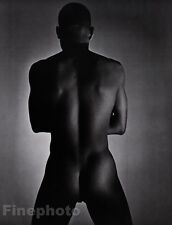 1952/81 Vintage BLACK MALE NUDE Butt Duotone Photo Art 16x20 GEORGE PLATT LYNES