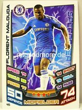 Match Attax 2012/13 Premier League - #045 Florent Malouda - Chelsea