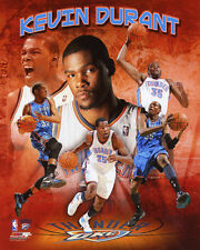 Oklahoma City Thunder KEVIN DURANT Glossy 8x10 Photo NBA Basketball Print Poster