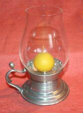 Lanterna Portacandele Lampadario bracci Stagno con Cilindro vetro Weber stagno