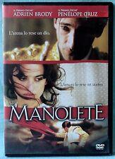 MANOLETE - PENELOPE CRUZ - DVD N.01736