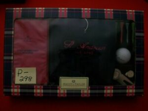 BRAND NEW ASCOT & TAYLOR LADIES ST. ANDREWS GOLFING ACCESSORIES HOLIDAY GIFT PKG