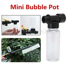 60ML Bubble Pot Car Wash High Pressure Power Sprayer Hose Nozzle Lance Cleaning