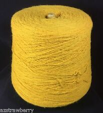Machine Knitting Cone Spool Yarn Weaving Loom Thread Gold 2/20 1 lb 5oz