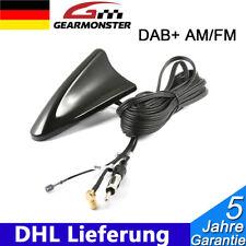 Auto DAB + AM/FM Haifisch Shark Dach Antenne mit DIN Stecker Buchse 5m Universal