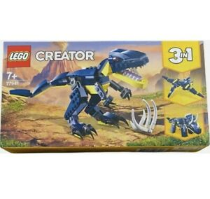 LEGO Creator  77941 Mighty Dinosaurs Dinos In Blue - Uk BRAND NEW ✅ 3 In 1