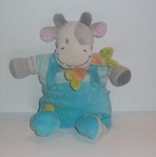 Doudou Vache Nicotoy - Bleu Gris