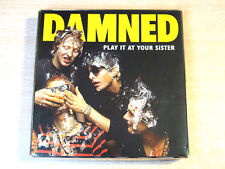 EX/EX !! Damned/Play It At Your Sister/2005 3X CD Box set/Live