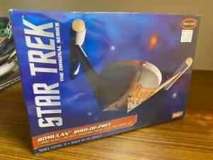 Star Trek Romulan Bird of Prey Model by Polar Lights -  New in Box