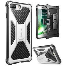 For iPhone 7 Plus / 8 Plus Case i-Blason Protective Cover w/ Kickstand Belt Clip