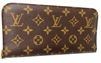 Auth LOUIS VUITTON Monogram Portefeuille Insolite Wallet White Purse A-1148