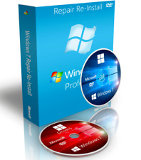 Windows 7 Professional Recovery Boot Disk DVD + Drivers + ISO Download 64 Bit