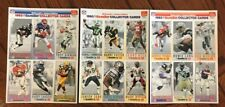 1993 MCDONALD'S GAMEDAY COLLECTOR CARD SET NEW HALL OF FAMERS