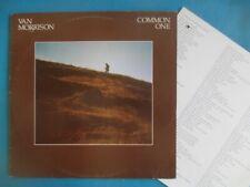 Van Morrison (ex Them) Lp + insert - Common One, original pressing