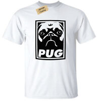 Kids Boys Girls PUG T-Shirt funny childrens