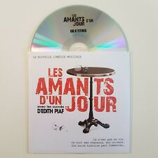 LES AMANTS D'UN JOUR : LA COMEDIE MUSICALE SUR  EDITH PIAF ♦ CD Promo Album ♦