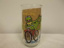 Vintage 1981 McDonald's The Great Muppet Caper Kermit The Frog Drinking Glass