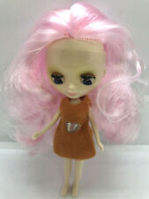 Free Ship Factory Type Mini Petite Blythe - Cotton Candy Hair Color
