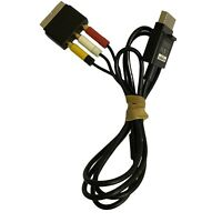 Official XBOX 360 Console Composite AV TV Cable Cord Lead Scart X821376-00