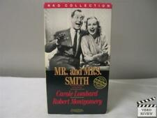 Mr. and Mrs. Smith (1941) VHS Carole Lombard, Robert Montgomery; Hitchcock
