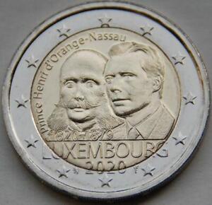 Pièce commémorative neuve de 2 euro ( Luxembourg 2020 )