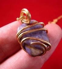 Gorgeous Grape Purple Russian Chaorite Pendant Bronze Merlin's Gold #20