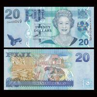 Fiji 20 Dollars, ND(2007), P-112a, UNC