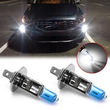 2x 6000K White H1 55W Lamp Halogen Fog Light Bulbs for Volvo XC90 S60 S80 V70