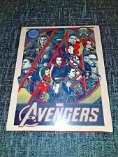 Marvel The Avengers Assemble Blu-Ray Exclusive MONDO Variant Steelbook New&Seal+