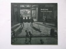 MARTIN LEWIS ARTIST NEW YORK OBSERVER DRAWINGS FAS EXHIBITION CATALOGUE 2008