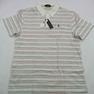 Penguin Munsingwear Polo Shirt White Color Mens XL Short Sleeve Golf Casual