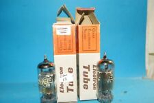 Coppia valvole 6DA6 = EF89 G. Electric O. Getter