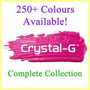 CRYSTAL-G - 250 PLUS COLOURS - UV LED GEL NAIL POLISH VARNISH - FULL COLLECTION