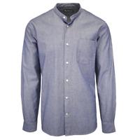 Barbour Men's Blue Chambray Fogle Lorton L/S Woven Shirt (S13)