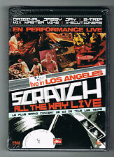 SCRATCH ALL THE WAY LIVE - LIVE IN LOS ANGELES - DVD NEUF NEW NEU