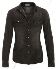Hauts et chemises jeans noir pour femme taille 38