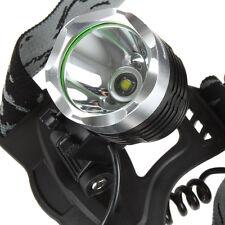 1600 Lumens CREE XM-L T6 LED Headlight Headlamp Torch Flashlight Power Charger