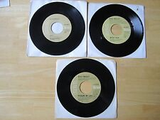 Elvis Presley Lof of (3) 45rpm records RCA CANADA Releases Moody Blue, Way Down