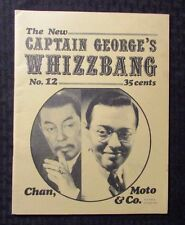 1971 Captain George's WHIZZBANG Fanzine #12 VG 4.0 Charlie Chan