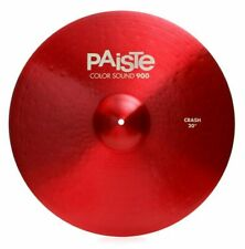 "Paiste Color Sound 900 Red 20"" Crash Cymbal/Brand New"