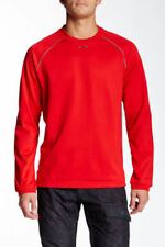 New Oakley Men's Protection Performance Water Resistant Sweatshirt Red M
