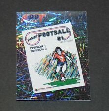 N°6 COUVERTURE 1981 FRANCE PANINI FOOTBALL FOOT 2006 2005-2006