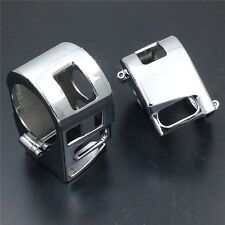 Chrome Switch Housing Cover For Yamaha Xvs V-Star 1100 Custom Xvs1100 1999-2012