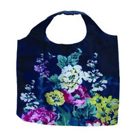 Fold-Up Reusable Floral Shopping Bag with Zip Pouch  JLS1910