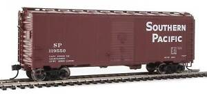 HO Scale - WALTHERS 910-2724 SOUTHERN PACIFIC 40' AAR Modified 1937 Boxcar