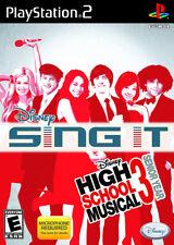 Disney Sing It High School Musical 3 Senior Year PS2 New Playstation 2