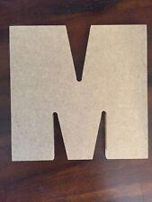 Letter M, 14cm Large M, Wooden M