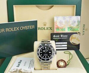 ROLEX - Stainless Steel SeaDweller Black Dial 16600 - SANT BLANC