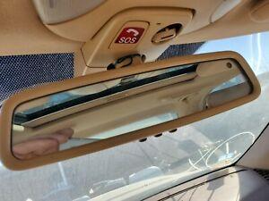 1999 2000 01 02 03 04 05 2006 MERCEDES-BENZ W220 S430 S500 REAR VIEW MIRROR TAN