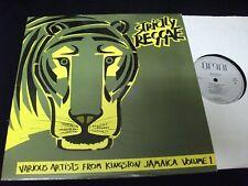 STRICLY REGGAE<>VARIOUS ARTISTS<>LP Vinyl~Canada  Pressing<>OMNI OM3701